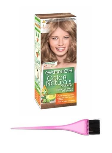 Garnier Garnier Color Naturals Saç Boyası 7 + Boya Fırçası Renksiz